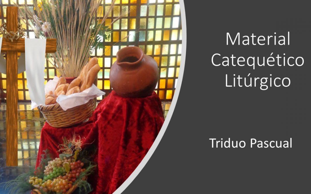 Material catequético-litúrgico para el Triduo Pascual