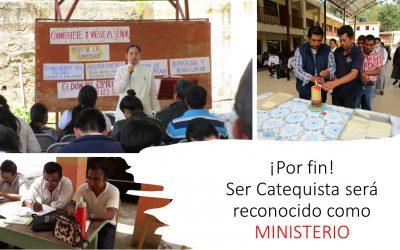 ¡Por fin! Ser Catequista será reconocido como un ministerio